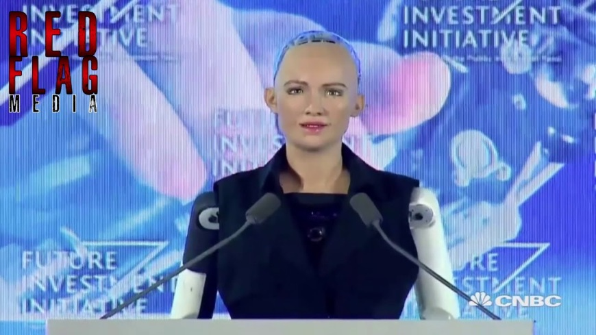 1ST ROBOT CITIZEN - Transhumanism 2017